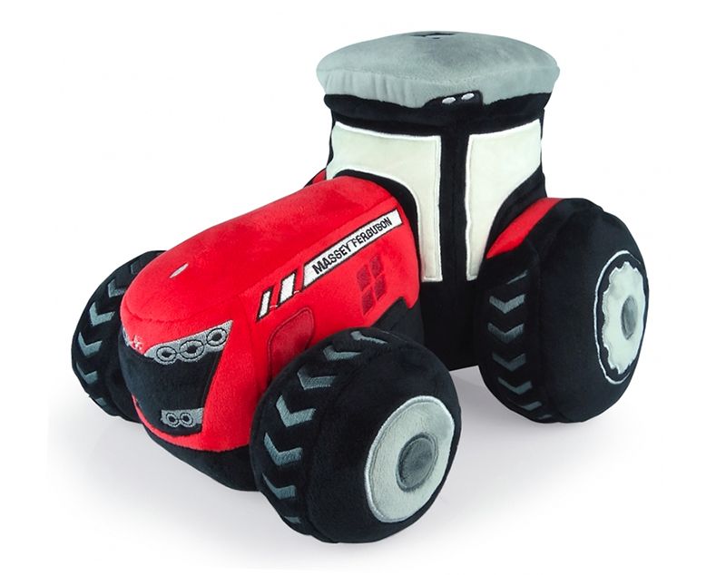 K1123 - Universal Hobbies Massey Ferguson 8000 Tractor Plush Toy UH