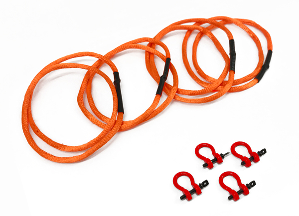 004B-R - Weiss Brothers Shackle and Round Sling Set
