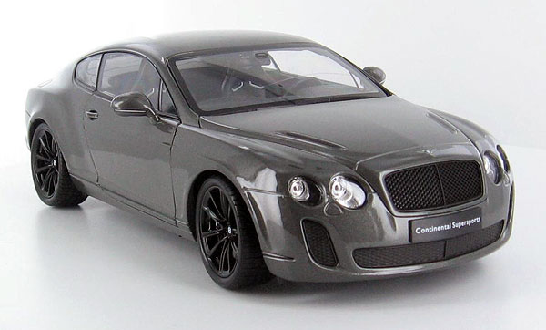 18038W-GY - Welly Bentley Continental SS Coupe