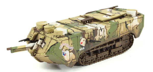 WW10207 - WGW Saint Chamond Tank Chantecoq AS31 French Army