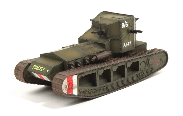 WW10209 - WGW Mk A Whippet British Army