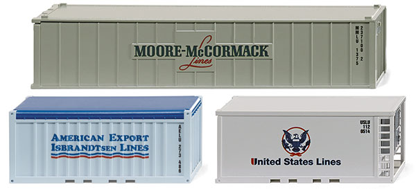 001809 - Wiking Model Shipping Containers Accessories