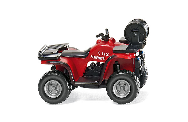 002303 - Wiking Model Fire Service All Terrain Vehicle ATV