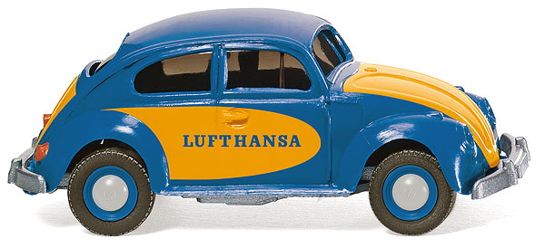 003002 - Wiking Model Lufthansa Volkswagen Beetle 1200
