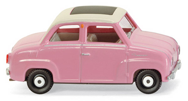 018499 - Wiking Model Glas Goggomobil Car