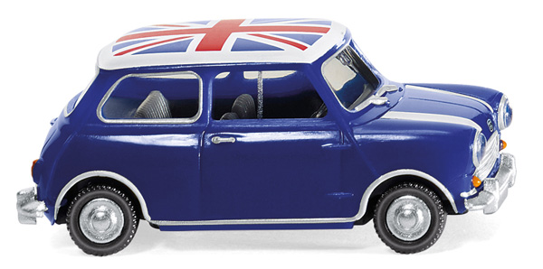 022604 - Wiking Model 1959 Austin 7 Union Jack High Quality