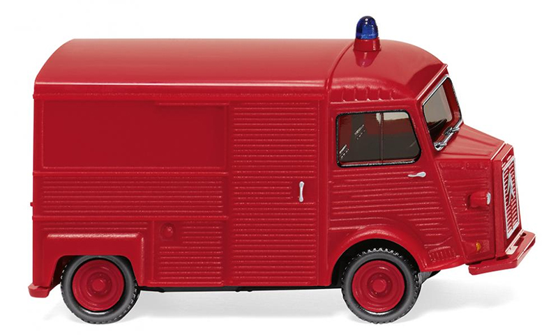 026206 - Wiking Model Fire Brigade Citroen HY Box Van High