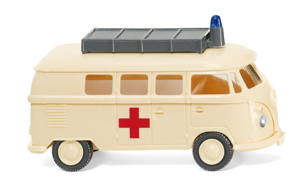 032003 - Wiking Model DRK German Red Cross 1963 Volkswagen T1