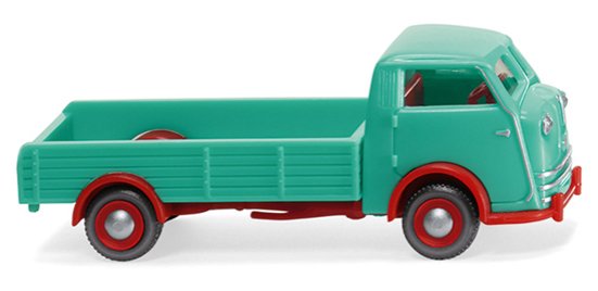 033502 - Wiking Model Tempo Matador High Side Flatbed Truck