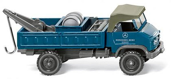 036601 - Wiking Model Mercedes Benz Service Unimog