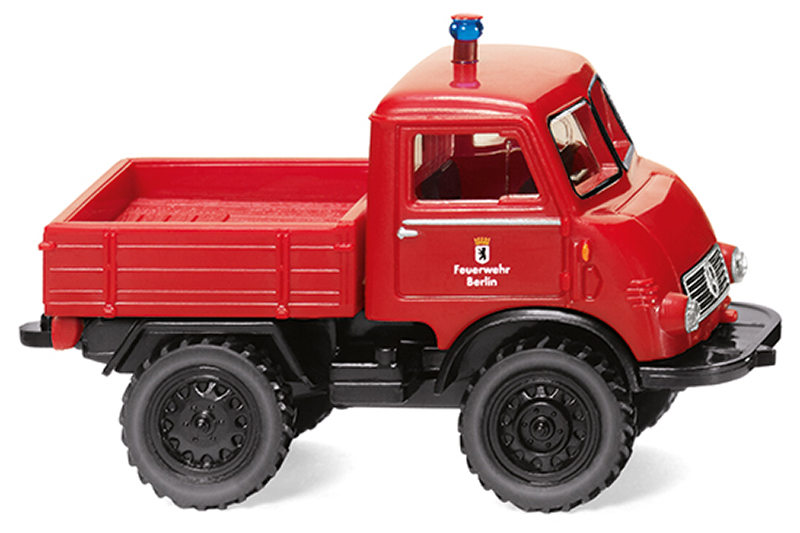 036804 - Wiking Model Fire Department Unimog U 401 Watch Dog