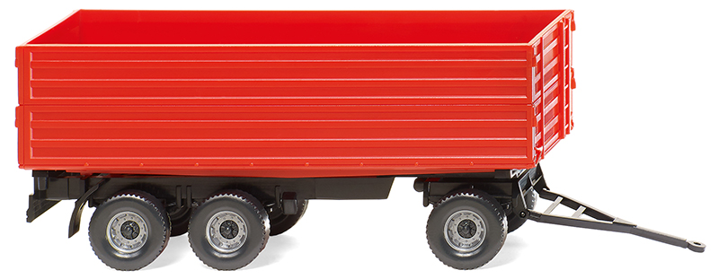 038818 - Wiking Model Agricultural 3 Axle Trailer