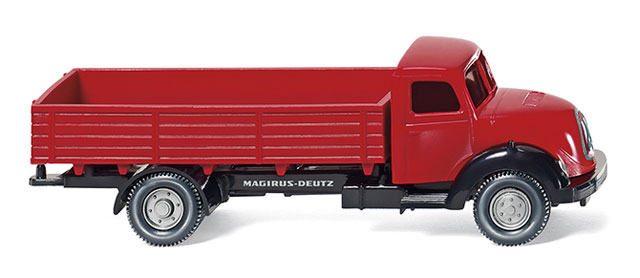 042601 - Wiking Model 1957 Magirus Deutz Flatbed Truck