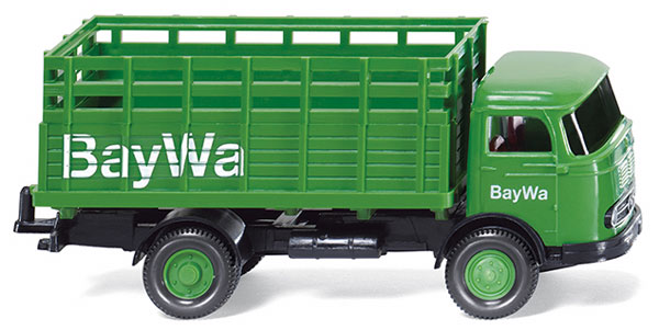 044603 - Wiking Model BayWa 1957 Mercedes Benz LP 321 Truck