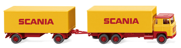 045702 - Wiking Model Scania 111 Box Truck