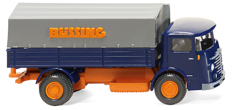 047601 - Wiking Model Bussing 4500 Flatbed Truck