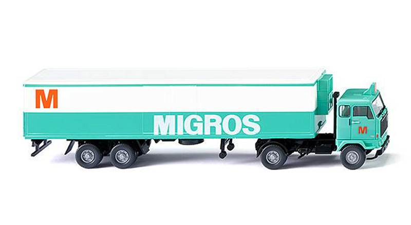 054301 - Wiking Model Migros Volvo F89