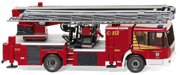 062847 - Wiking Straelen Mercedes Benz Heavy Duty Rescue