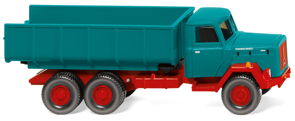 064503 - Wiking Model Magirus Dump Truck
