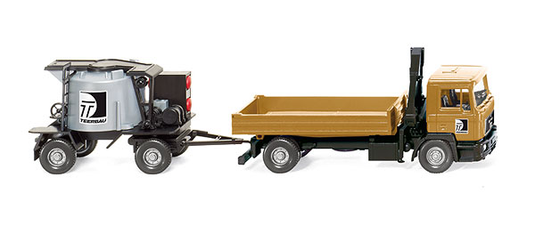 068903 - Wiking Model Teerbau MAN F90 Flatbed Truck