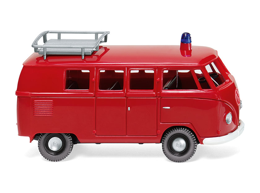 078812 - Wiking Model Fire Brigade Volkswagen T1 Type 2 Bus