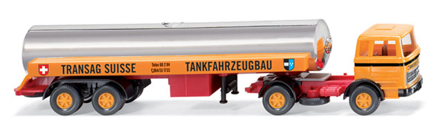 080599 - Wiking Model Mercedes Benz 1620 LPG Truck