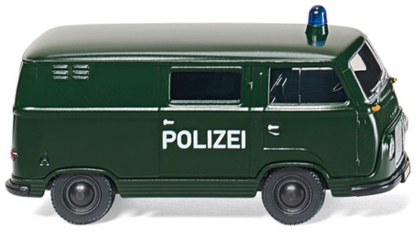 086423 - Wiking Police Ford FK 1000 Box Van