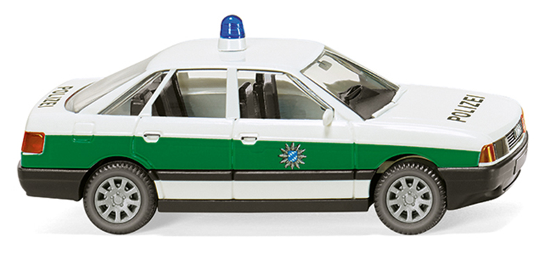086443 - Wiking Model Polizei Audi 80 Police Car high quality