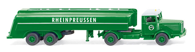 088249 - Wiking Model Bussing 8000 Articulated Tanker Truck