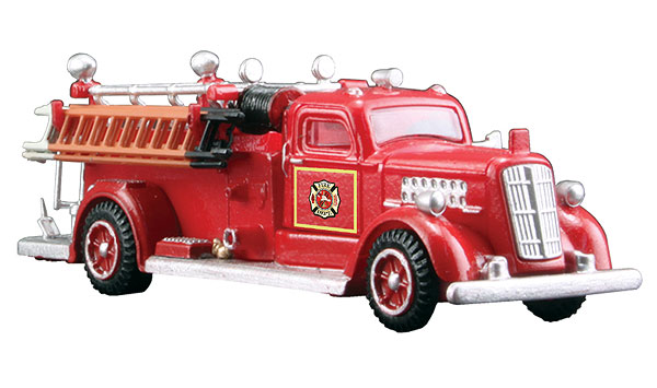 AS5567 - Woodland Scenics Fire Truck HO Scale Auto Scenes ABS