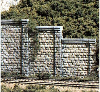 C1159 - Woodland Scenics Retaining Wall Cut Stone Set of