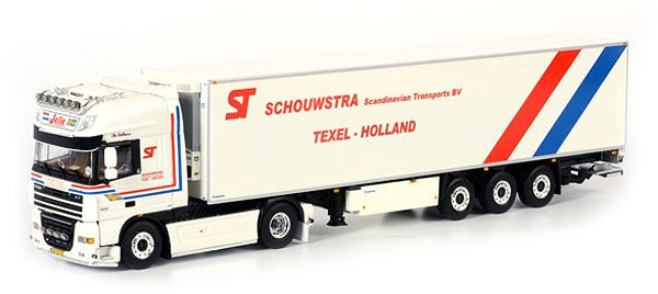 01-1261 - WSI Model Schouwstra Transport DAF XF105 SSC