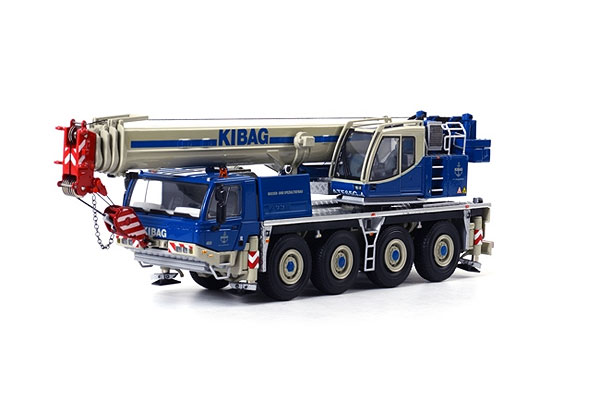 01-1436 - WSI Model Kibag Tadano Faun ATF 65 Truck Mounted