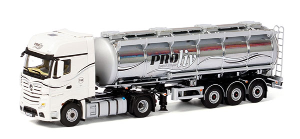 01-1788 - WSI Model Proliv Mercedes Benz Actros Giga Space Tractor