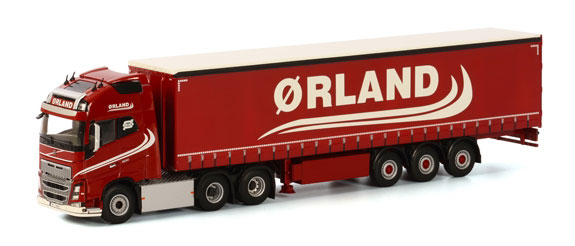 01-1801 - WSI Model Transport Volvo FH4 GL 3 Axle