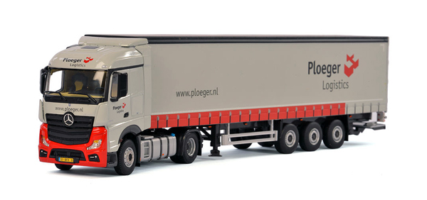 01-1954 - WSI Model Ploeger Mercedes Benz Actros MP4 Stream Space