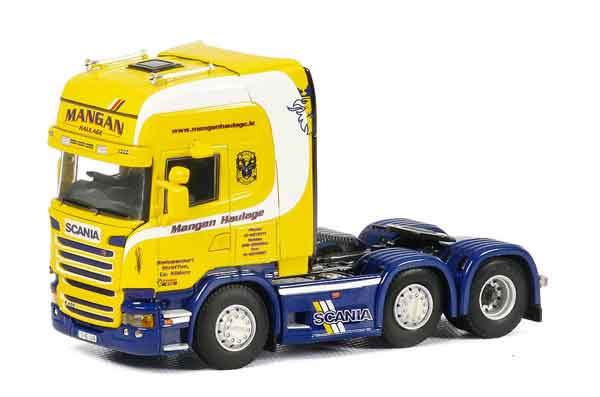 01-1962 - WSI Model Mangan Scania R Streamline Topline Cab Only