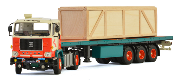 01-2162 - WSI Model Lommerts Volvo F88 Tractor
