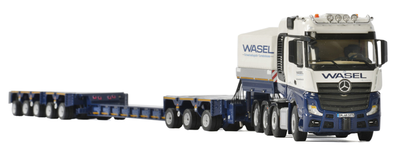 01-2215 - WSI Model Wasel Mercedes Benz Actros MP4 SLT Big