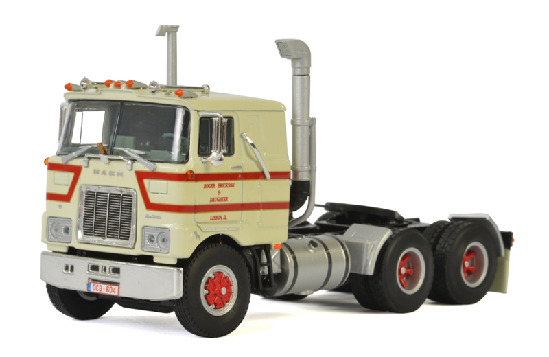 01-2226 - WSI Model Tim Kuijl Mack F700 Tractor Cab Only