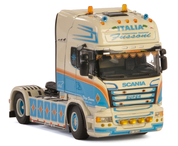 01-2303 - WSI Model Fussoni Scania Streamline Topline Tractor Cab Only