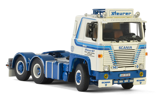 01-2341 - WSI Model Steurer Scania 141 Tractor Cab Only