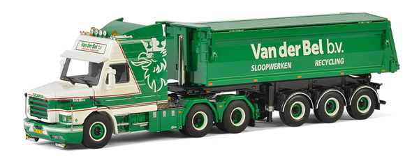 01-2347 - WSI Model Van der Bel Scania 3 Series Torpedo