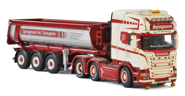 01-2401 - WSI Model Springmann Scania Streamline Highline Tractor