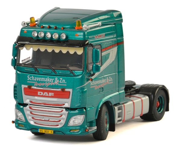 01-2477 - WSI Model Schavemaker DAF XF SC Tractor Cab Only