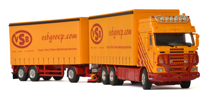 01-2583 - WSI Model VSB Druten Scania 3 Streamline Straight Truck