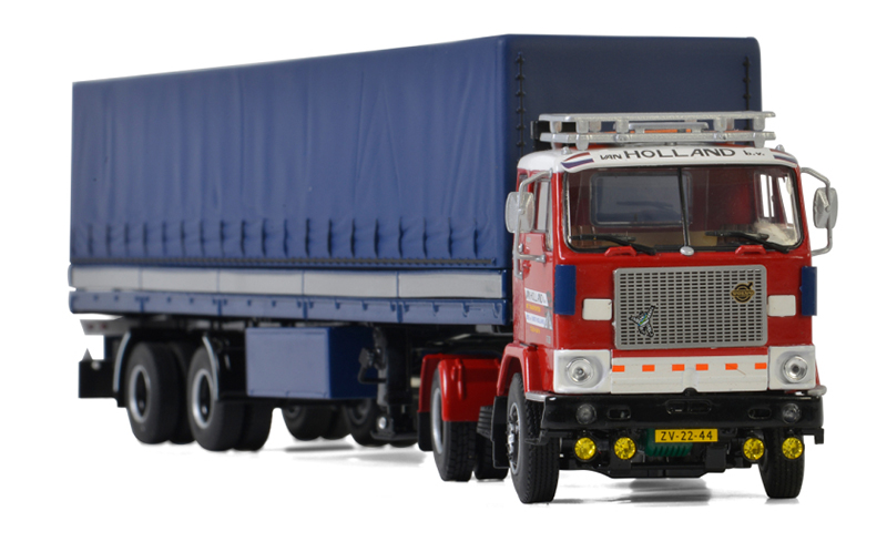01-2584 - WSI Model Van Holland Transporten Volvo F88 4x2 Tractor