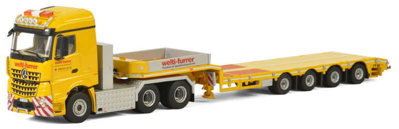 01-2624 - WSI Model Welti Furrer Mercedes Benz Arocs MP4 Stream
