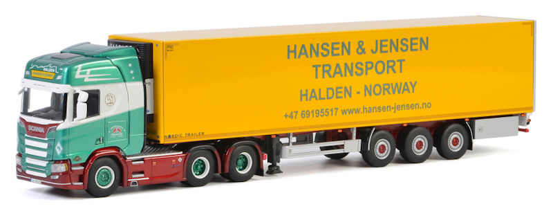 01-2652 - WSI Model Hansen Jensen Scania R Highline CR20H