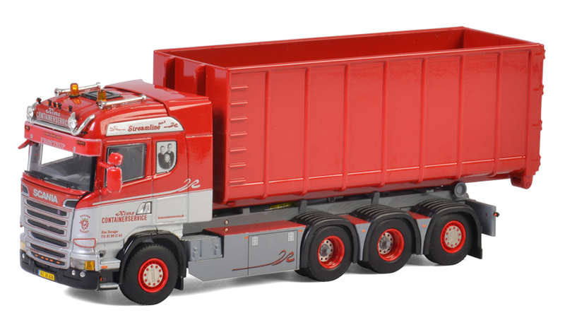 01-2701 - WSI Model Kims Container Scania Streamline Highline 8x4